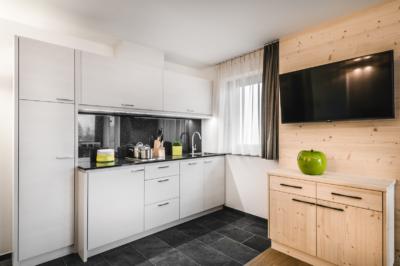 Kitchen Apartment Alpin