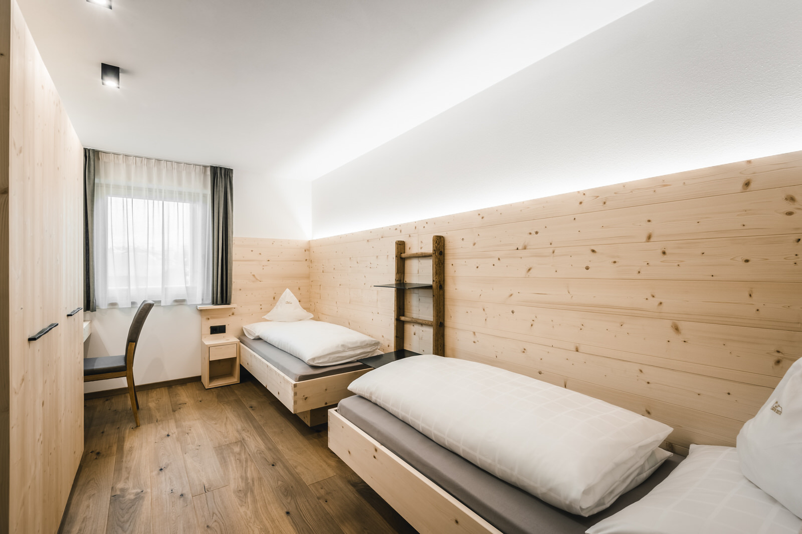 Schlafzimmer Apartment Alpin