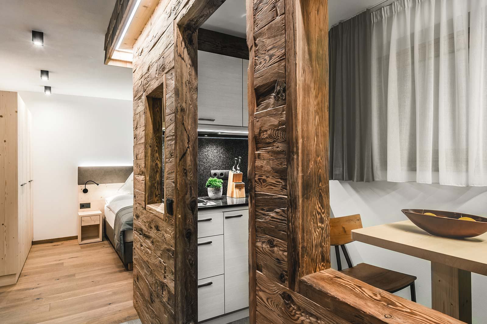 Apartment Ciüch kitchen