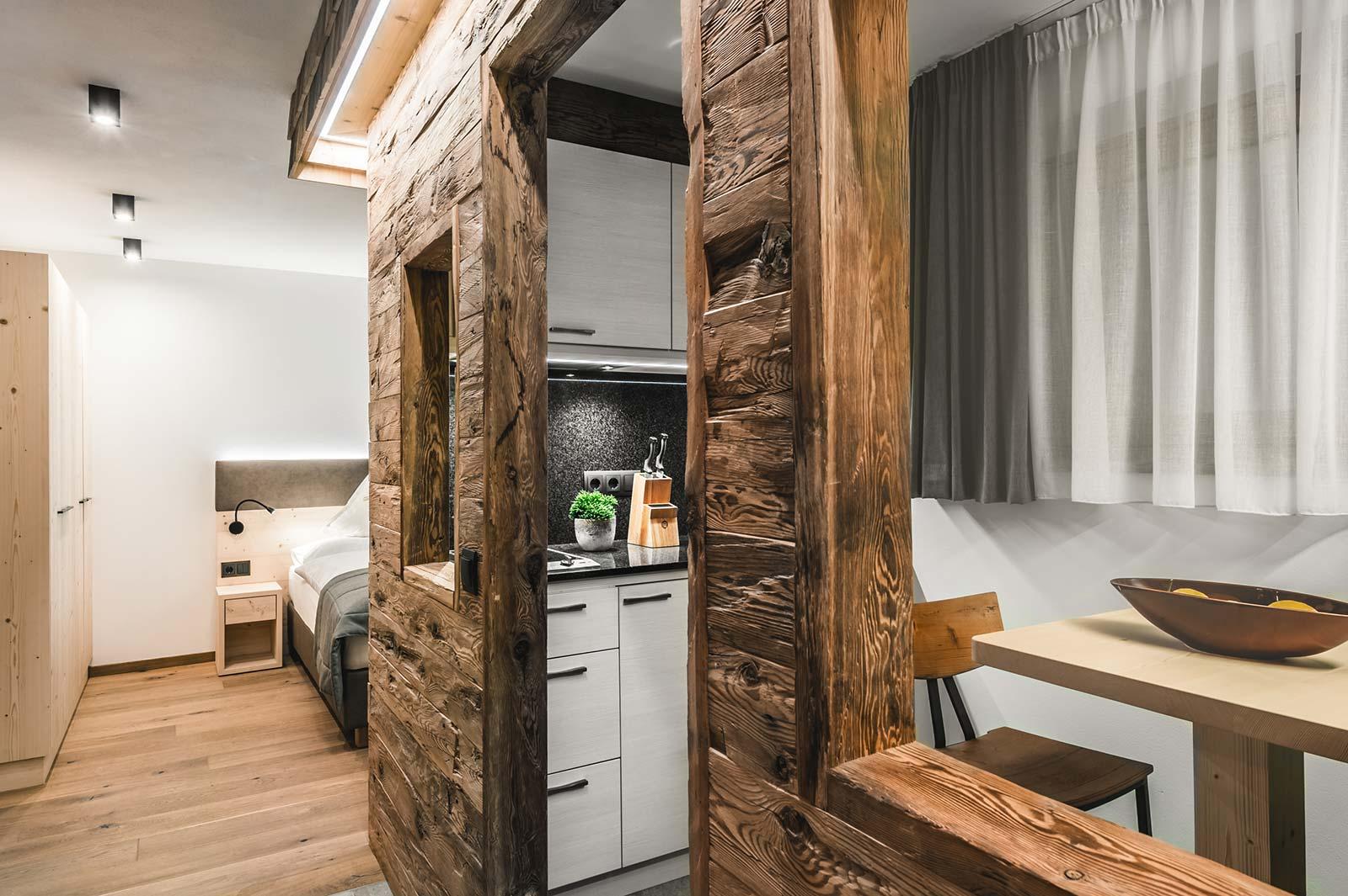 Apartment Ciüch Küche