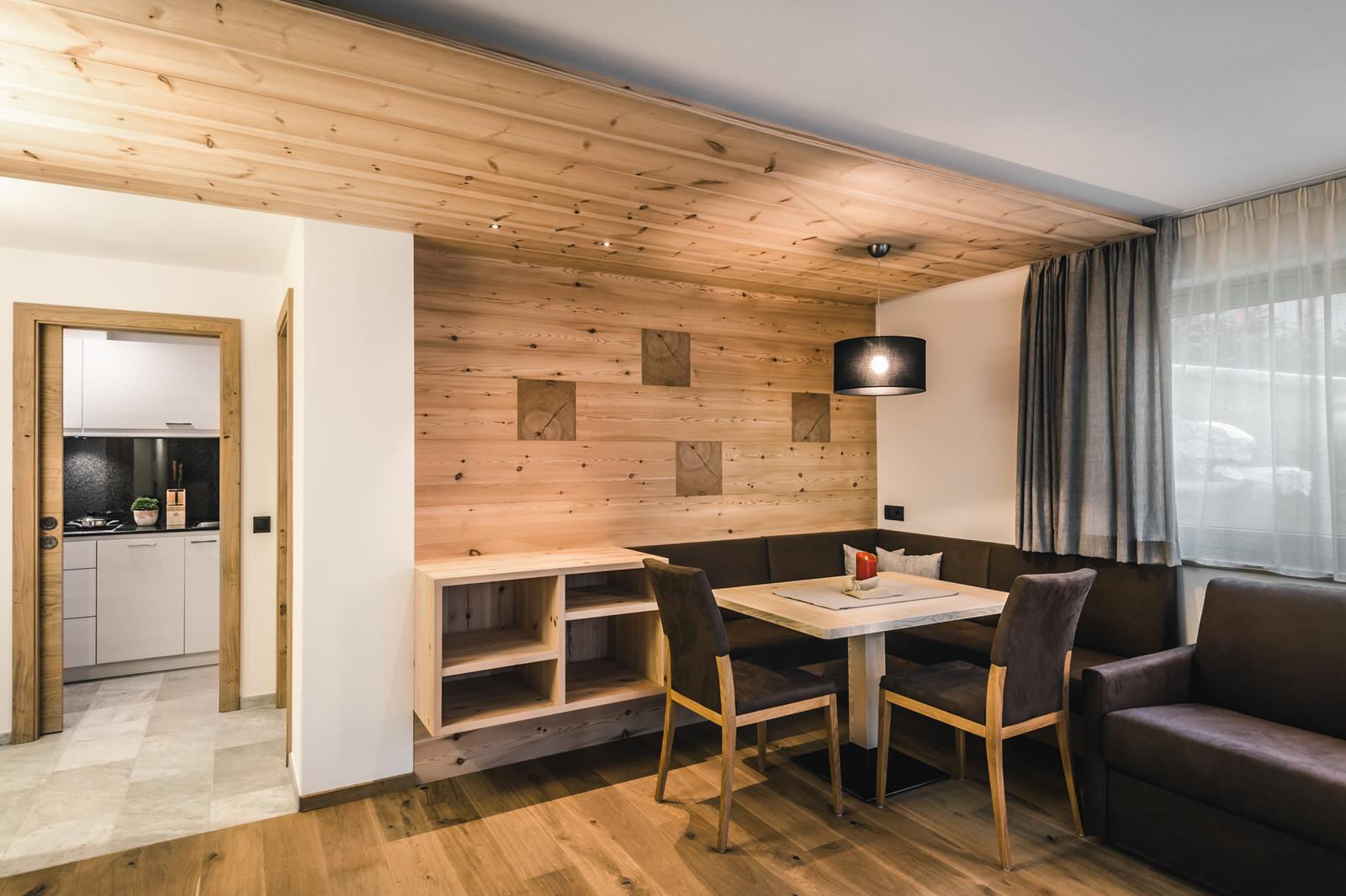 Apartment Barantl Wohnzimmer