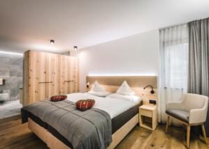 Apartment Barantl Schlafzimmer