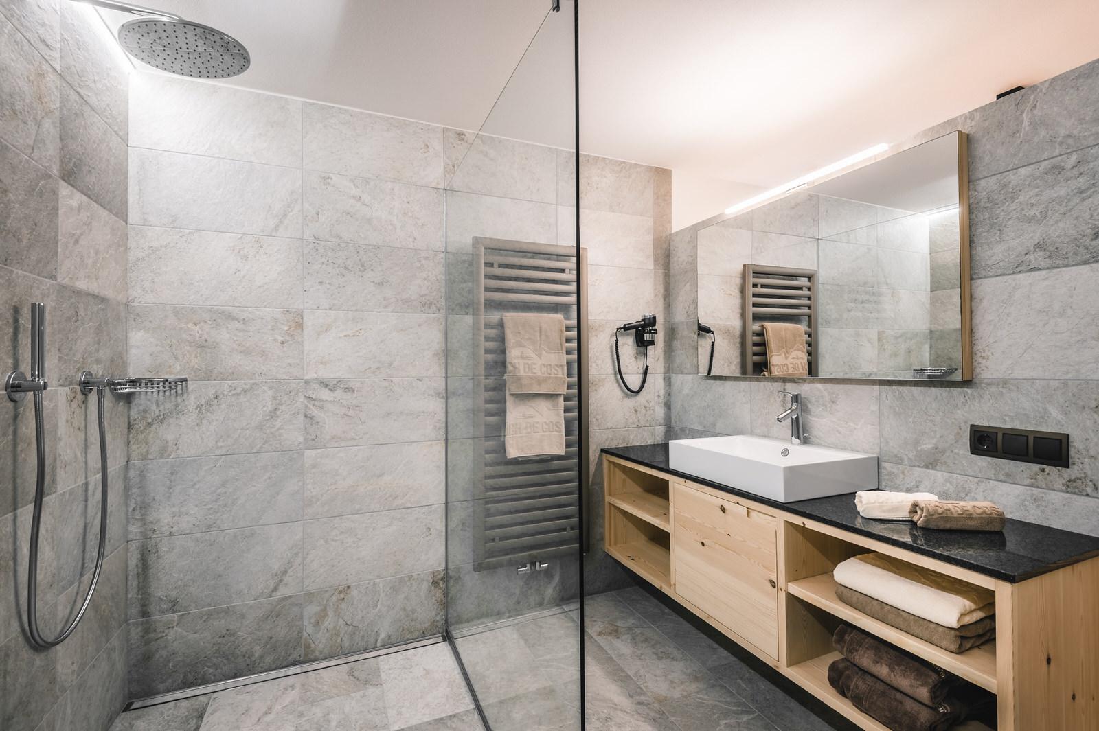 Apartment Barantl Badezimmer