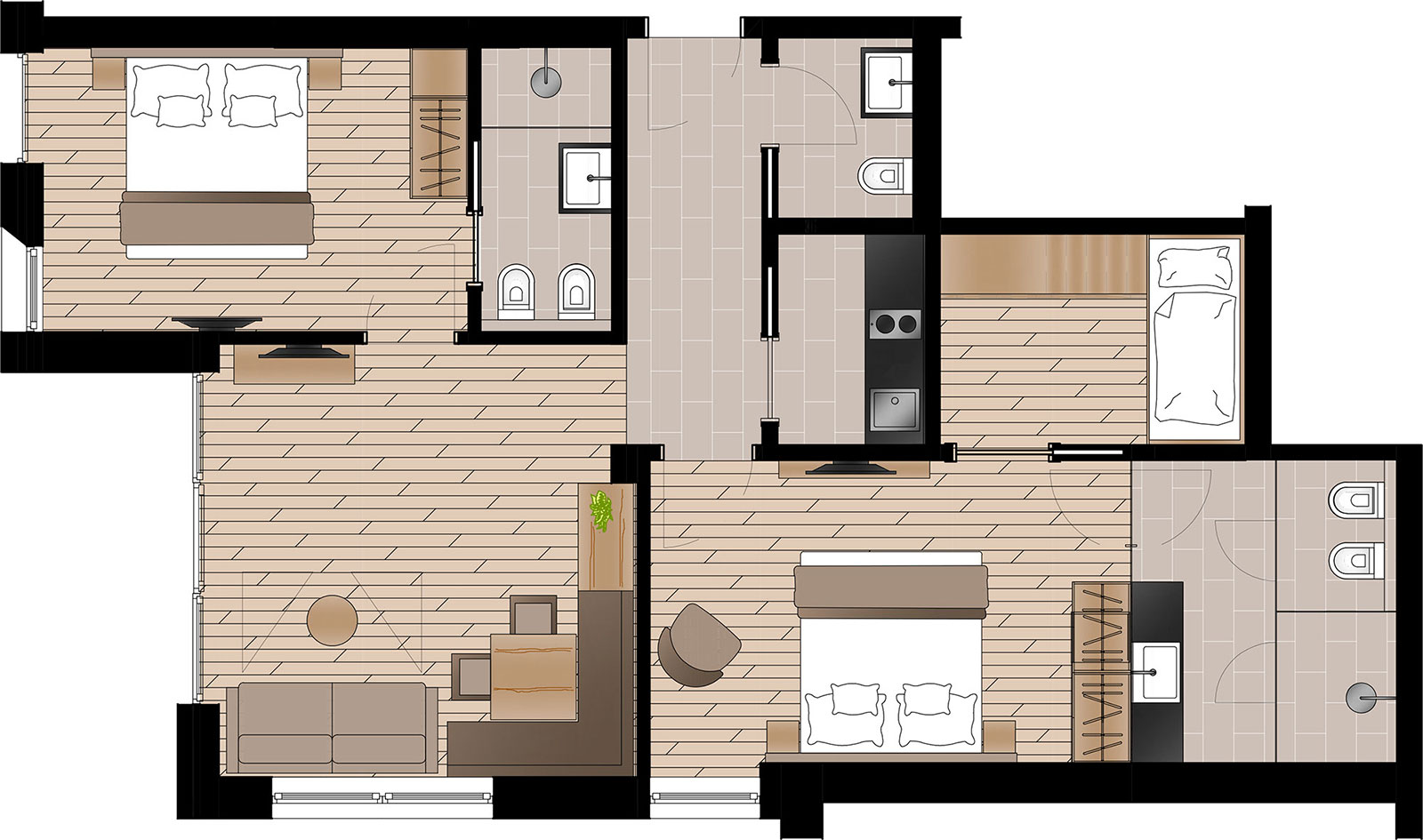 Apartment Barantl