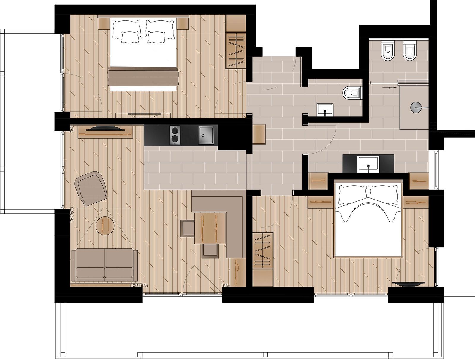 Apartment Lersc