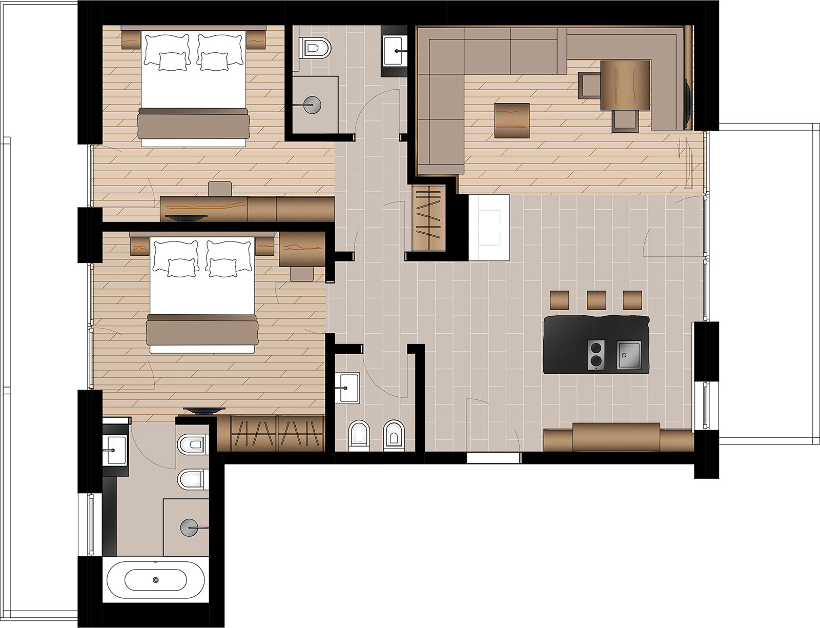Appartamento Linara Alpina