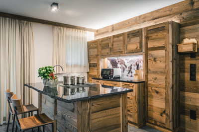 Kitchen Apartment Linara Alpina